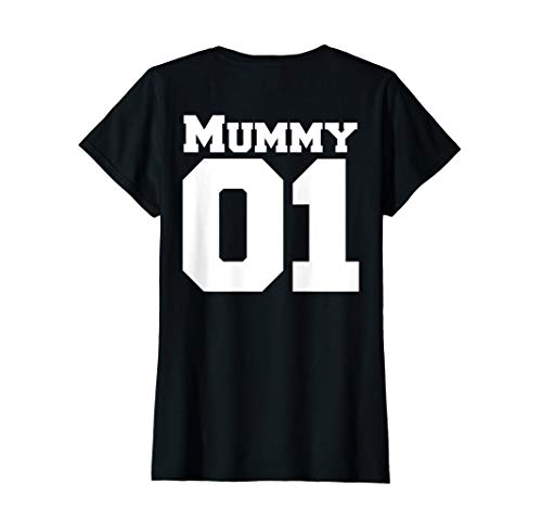 Damen Papa Mama Partnerlook Vatertag Geschenk TShirt | Mummy Shirt