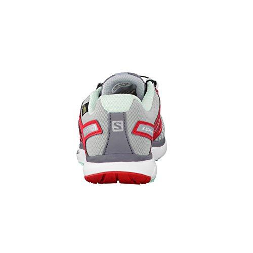 Salomon  XA Pro Mid GTX, Chaussures de trekking et randonnée femmes Gris - light onix/igloo blue/white