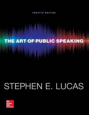 [(The Art of Public Speaking with Connect Access Card)] [By (author) Stephen Lucas] published on (October, 2014)