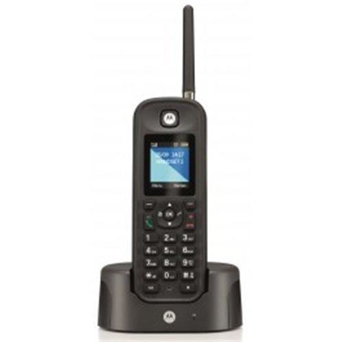 Motorola MOT31O201N - Teléfono inalámbrico DECT, color negro