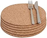 T&G - Set of 6 round tablemats in FSC® certified cork