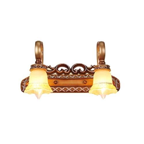 Neo Chinese Stil LED-Spiegel-Front Lampe Objektiv Headlight Bad Wand Lampe Antique (Größe: 2 Lampholder),2