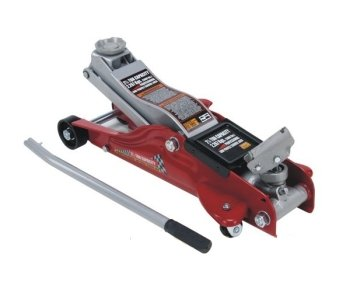 Cric/Sollevatore/Martinetto idraulico a carrello 2T/2000Kg con profilo basso