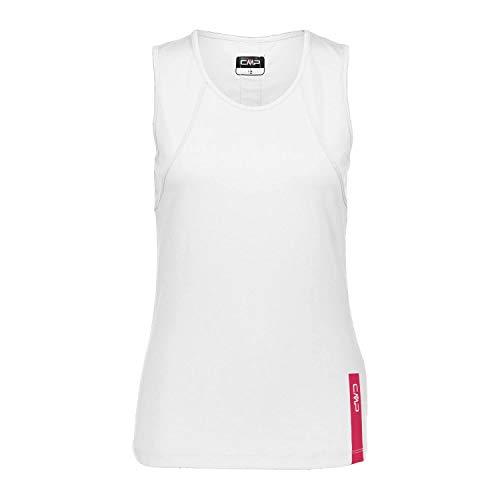 CMP Damen TOP T-Shirt, Bianco, 34