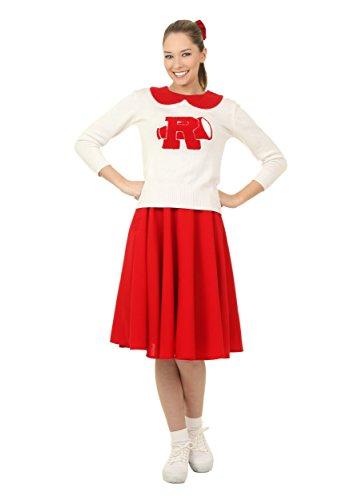 Women's Grease Rydell High Cheerleader Fancy dress costume X-Small (Sandy Grease Cheerleader Kostüm)