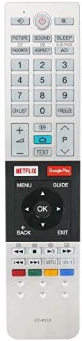 New CT-8516 Replacement Remote Control fit for Toshiba HDMI LED LCD TV 49U9750 55U9750 65U9750 43U7750VE 43U77