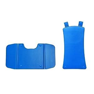 Endres Badelift bellavita – Comfortbezug Auflagenset blau – Hygieneartikel