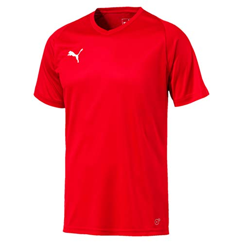 Puma Men's LIGA Jersey Core Red White, Small