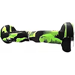 Carcasa de silicona funda protectora antiarañazos para monopatín de balanceo o hoverboard de 16,5cm