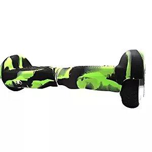 Coque en silicone Rayures Protector-silicone Coque de protection pour 16,5cm Self Balancing Scooter Hoverboard