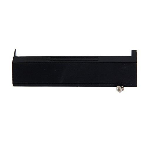 ZauberLu Duro Hdd Unidad Soporte De La Cubierta Con El Tornillo De Caddy Para Dell Latitude E4300 Negro