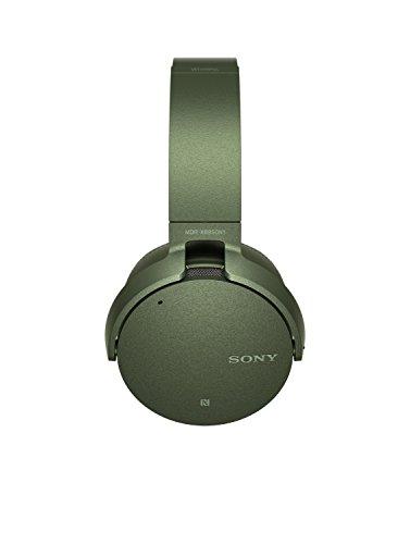 Sony MDR-XB950N1 kabelloser Kopfhörer mit Geräuschminimierung (Noise Cancelling, Extrabass, NFC, Bluetooth, faltbar) grün - 11