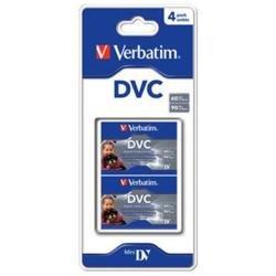 Verbatim Digital Video Cassette 60 Min 4 Pack 4 pieza(s) - Cinta de audio/video (60 min, 4 pieza(s))