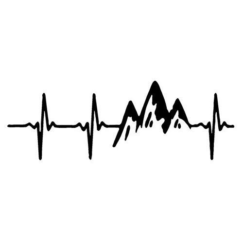 Rstant Vinyl Aufkleber Fensteraufkleber - Klettern Berge Auto Aufkleber Reflektierende Körper Aufkleber Buntings Für Laptop, Fenster, Wand, Auto, Motorrad