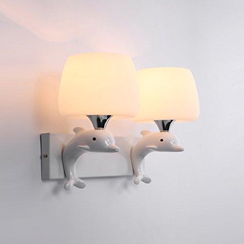 Lifme Neue Harz Schlafzimmer Hotel Vogue Glaswand Lampdouble