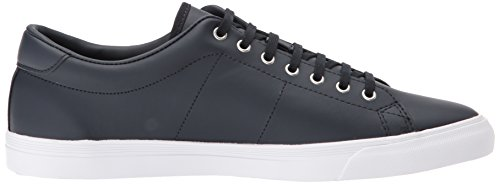 Fred Perry Herren Underspin Leather Oxfords, Weiß Blau (Navy)