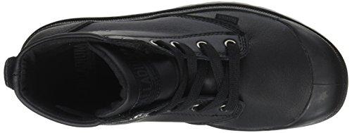 Palladium Pampa Hi Leat U, Sneaker a Collo Alto Unisex-Adulto Nero (Black)