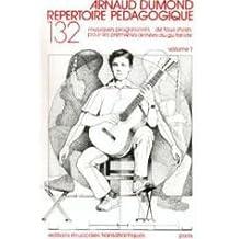 Dumond : répertoire pédagogique vol 1 - guitare