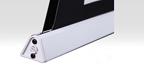 31GgWv NUDL - HiViLux para empotrar en techos hipertensión Motor lienzo UHD 4 K/3D/Full HD/ganancia 1,0 tela blanca profesional cine diapositiva/solo 13 cm instalación altura/con mando a distancia