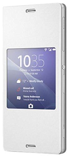 Sony BT-SOSCR24W Smart Cover per Xperia Z3, Bianco