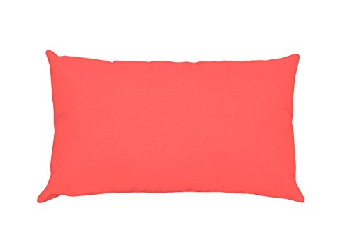 Lovely Casa t24820001 Alicia funda 50 x 70 – Bolsa 100% CO 100% algodón, coral, 50 x 70 cm