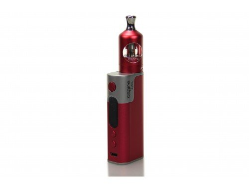 Aspire Zelos E-Zigaretten Set 50 Watt, rot