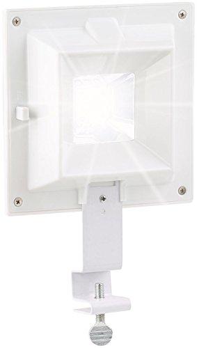 Lunartec Dachrinnenlampe: Solar-LED-Dachrinnenleuchte, 6 SMD-LEDs, 20 Lumen, IP44, Licht-Sensor (Dachrinnenstrahler)
