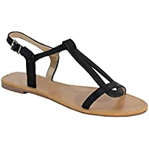 By Shoes - Sandale Plate Style Cuir - Femme