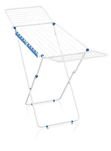 Wäschetrockner Wäscheständer (Leifheit 81548 Standtrockner Classic 200 Easy Pure Blue Standtrockner, Metall, 54.5 x 4.5 x cm)