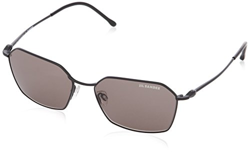 Jil Sander JS122S Rechteckig Sonnenbrille, 1 Dark Gunmetal