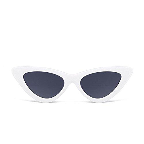 URSING Damen Mode Katzenaugen Sonnenbrille Integriertes UV Cat Eye Sunglasses Damenbrillen Herrenbrillen Frauen Retro Vintage Brille Nachtsichtbrille Eyewear Travel Sonnenbrillen (K)
