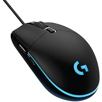 Logitech G203 Prodigy Mouse Gaming, 8000 DPI, RGB, Design Leggero, 6 Pulsanti Programmabili, Memoria Integrata, Compatibile con PC/Mac/Laptop, Nero