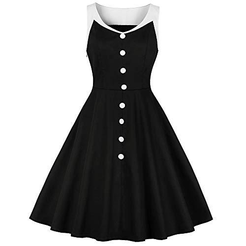 leid Rockabilly Swing Vintage Kleid Party Feminino Vestidos De Festa Schwarz Robe Kleid ()
