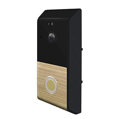 BILLY'S HOME Wasserdichte Türklingel, drahtlose WiFi Fernglocke wiederaufladbare Batterie inklusive Echtzeitvideo und Zwei-Wege-Talk, Nachtvision, PIR Motion Detection Motion Alert Kit