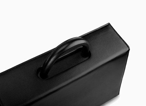 Borsa ZPFME Ladies Borsa Da Tasca In Pelle Semplice Tote Borse Da Viaggio Borsa Da Viaggio Student Retro Messenger Bag Grey