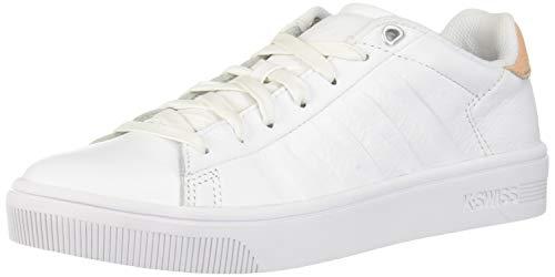 K-Swiss Damen Court Frasco Sneaker, Weiß (White/Spanish Villa 189), 40 EU
