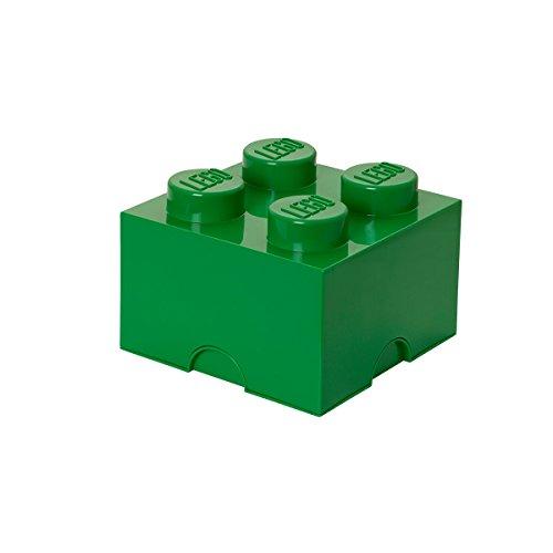 Business Storage (Lego Storage Brick 4 Medium Dark Green É)