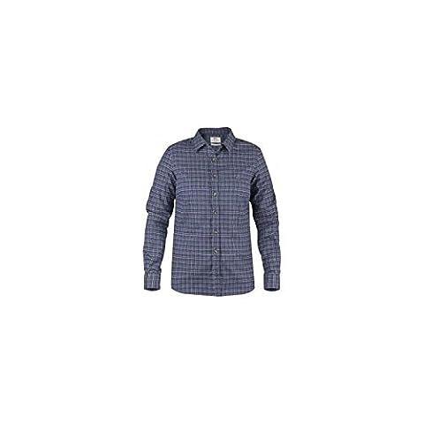 Fjällräven T-shirt sörm Pays Flannel LS W à manches longues XL bleu marine