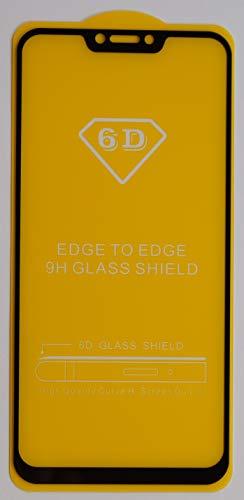 1x Panzerglas für ASUS ZenFone 5z ZS620KL Schwarz FullCover 5D 6D 9D 9H Glasfolie Panzerfolie Premium Panzer Glas Folie Tempered Glass (kein 3D Glas)