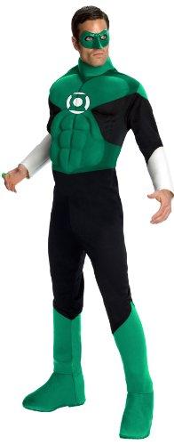 KULTFAKTOR GmbH Green Lantern-Herrenkostüm Superheld grün