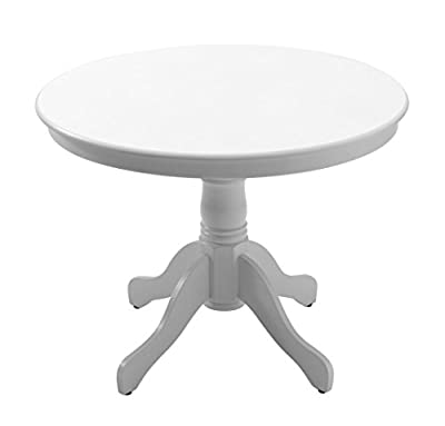 JYSK Dining Table Askeby D100cm White