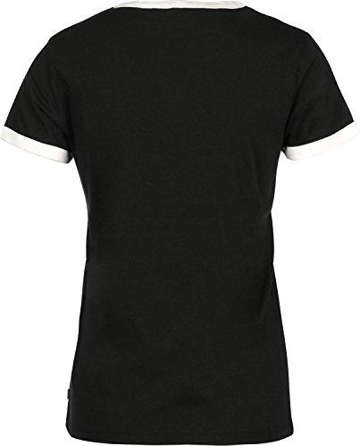 Unbekannt Levis T-Shirt Women Perfect Ringer Tee 35793-0001 Schwarz, Größe:M (Ringer Damen Tee)