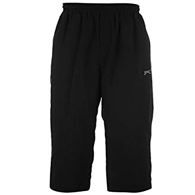 Slazenger Mens Three Quarter Jogging Bottoms Pants Trousers Sports Clothing