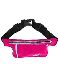 Alcoa Prime Unisex Ultrathin Outdoor Running Waist Bag Sports Pockets Bag Rose Red - B074P5TC9Z