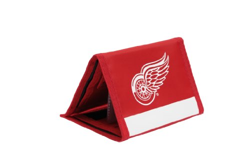 Red Tri-fold Wallet (JF Sports Canada NHL Detroit Red Wings Trifold Nylon Geldbörse)