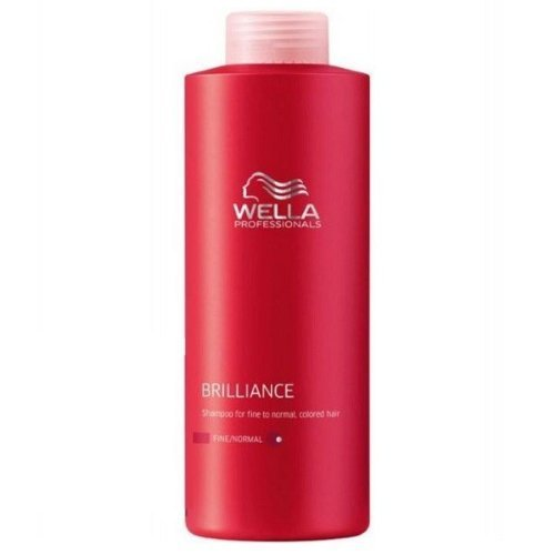 Wella Brilliance Shampoo 1000ml Fine/normal by Wella BEAUTY (English Manual)