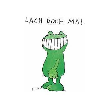 Amazon.de: Kunstdruck / Poster 48x58 cm LACH DOCH MAL