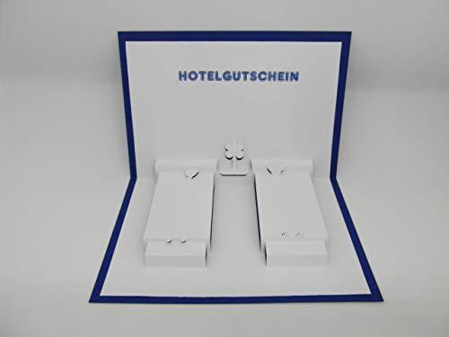 Pop up Karte - Hotel-Gutschein -