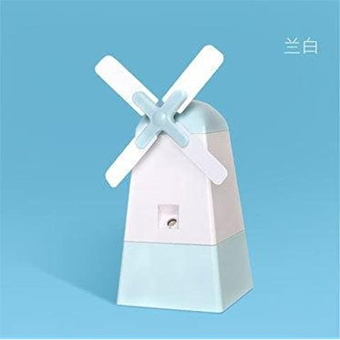 FEI&S The windmill humidifier spray mini charging the humidifier Fan , Ho ,120*110*121mm White