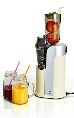 Senya Estrattore di succo di frutta e verdura Healthy Juicer, 60 GIRI/MIN,